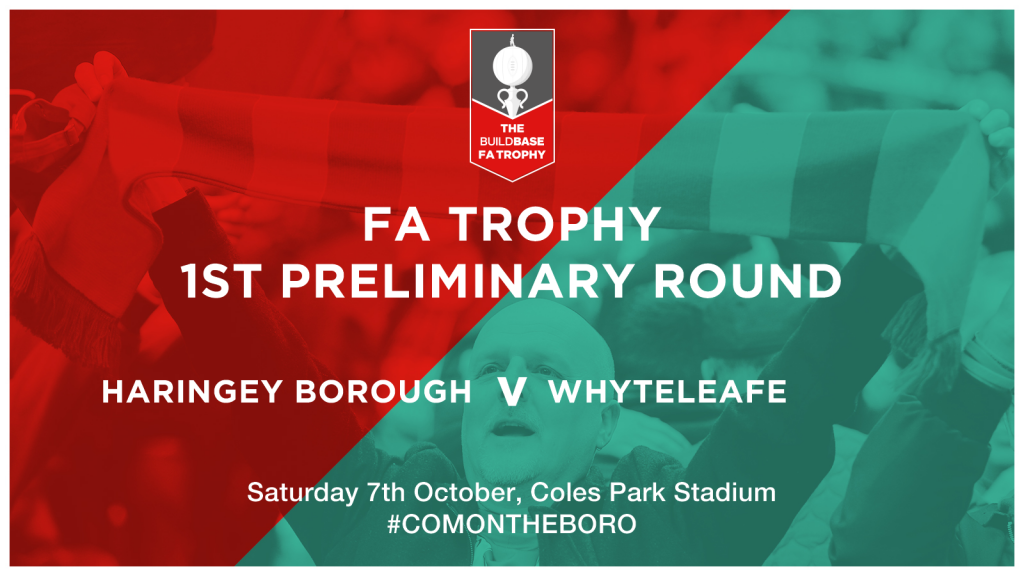 FA Trophy Begins With Whyteleafe FC at Coles Park!