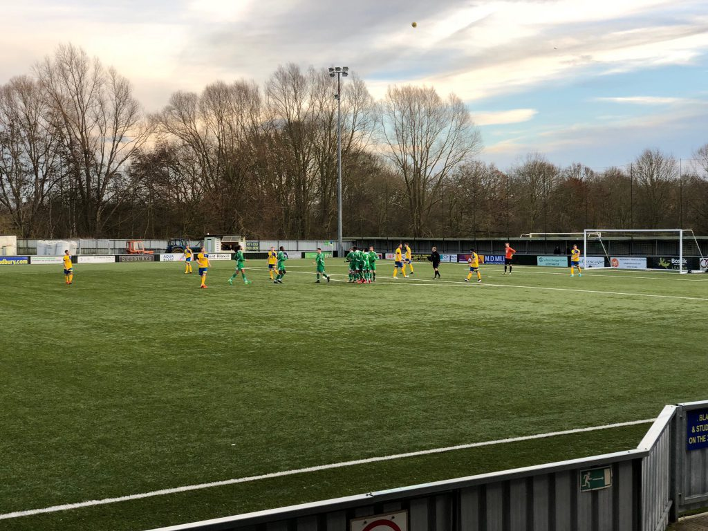 AFC Sudbury 1 – 2 Haringey Borough