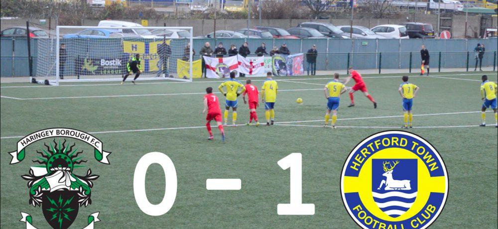 Haringey Borough 0 – 1 Hertford Town