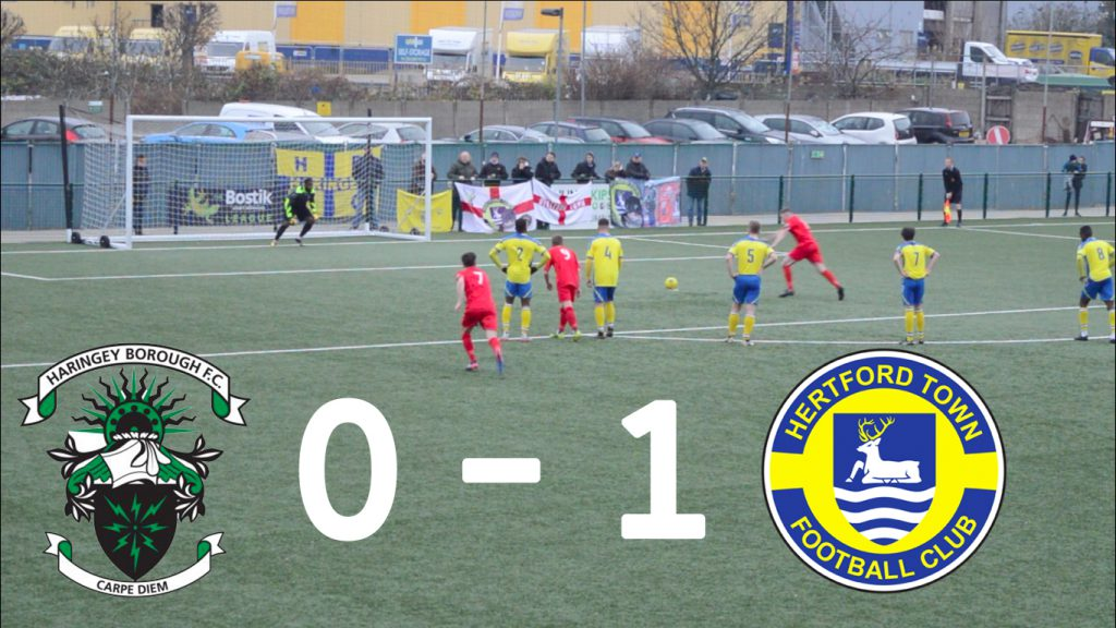 Haringey Borough 0 – 1 Hertford Town