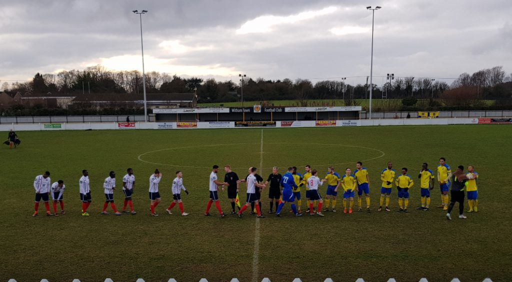 Witham Town 2 – 0 Haringey Borough