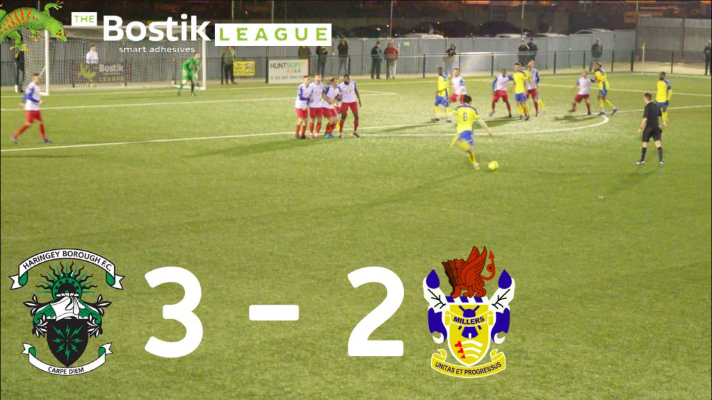 Haringey Borough F.C 3 – 2 Aveley F.C