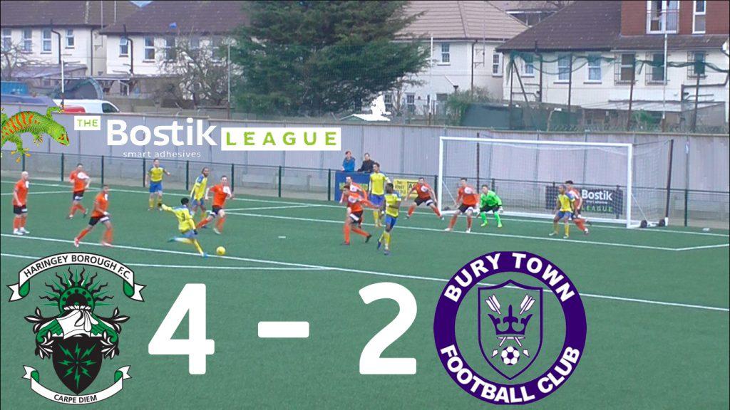 Haringey Borough 4 – 2 Bury Town