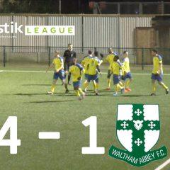 Haringey Borough 4 – 1 Waltham Abbey