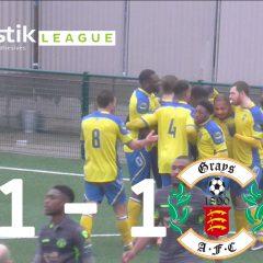 Haringey Borough 1 – 1 Grays Athletic