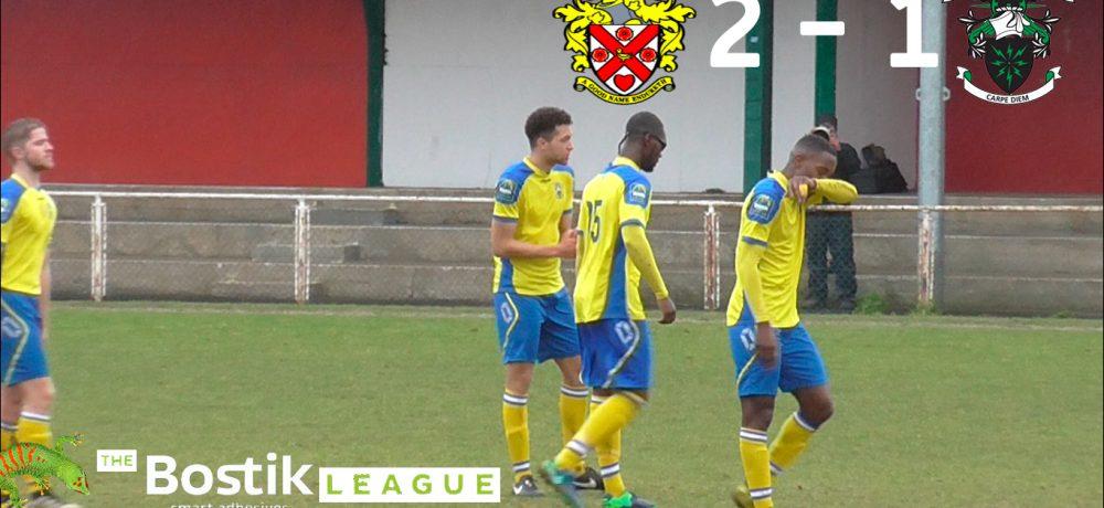AFC Hornchurch 2 – 1 Haringey Borough