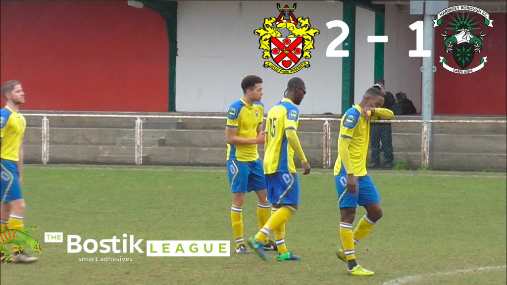AFC Hornchurch 2 – 1 Haringey Borough