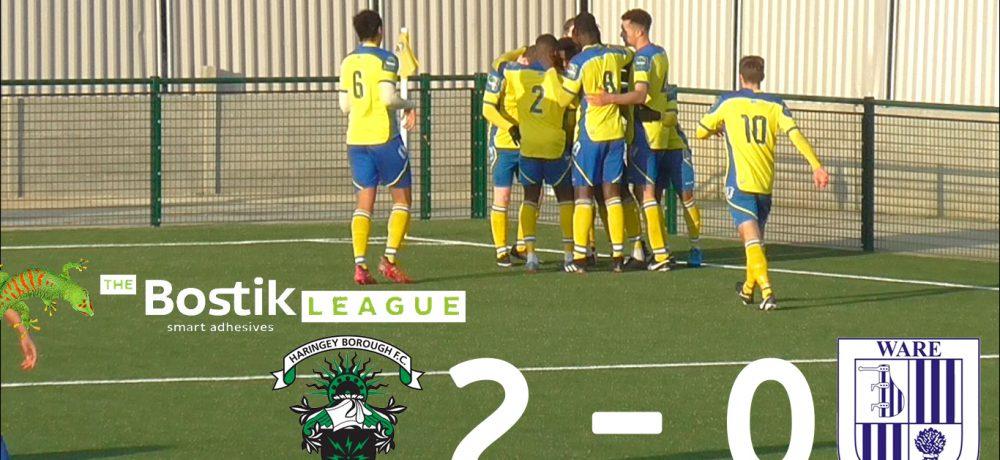 Haringey Borough 2 – 0 Ware