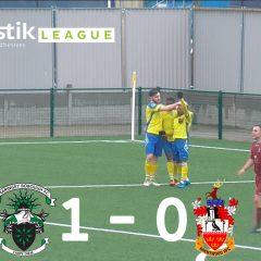 Haringey Borough 1 – 0 Brentwood Town