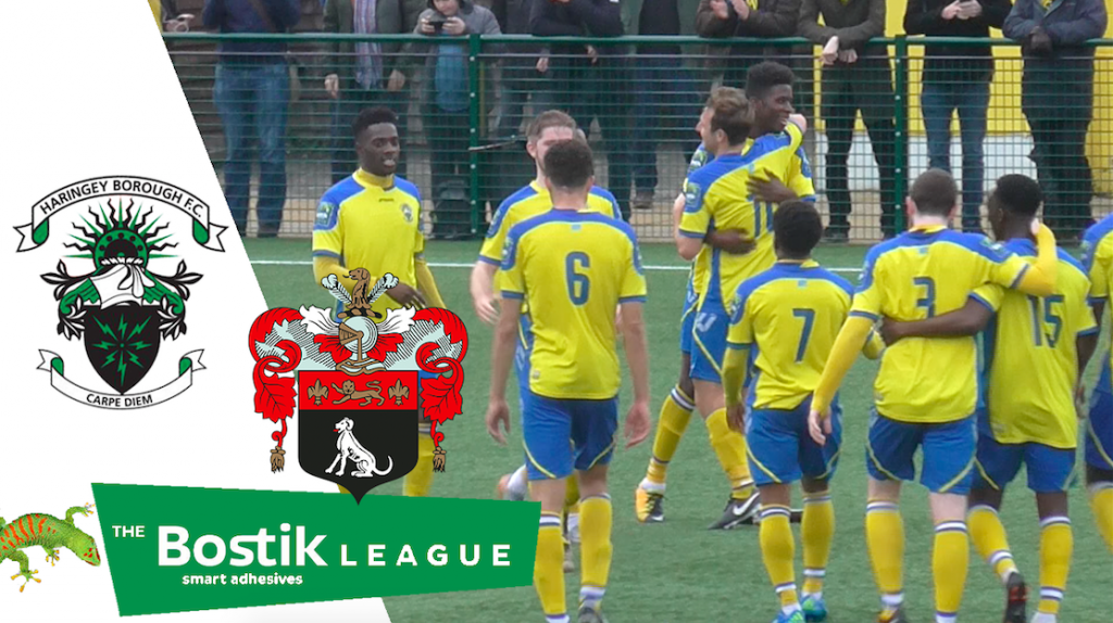 Haringey Borough 3 – 0 AFC Sudbury