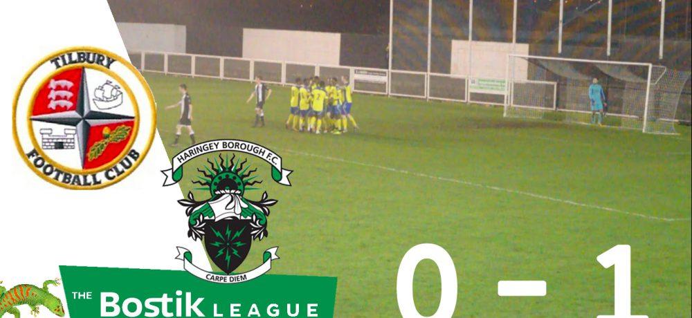 Tilbury 0 – 1 Haringey Borough