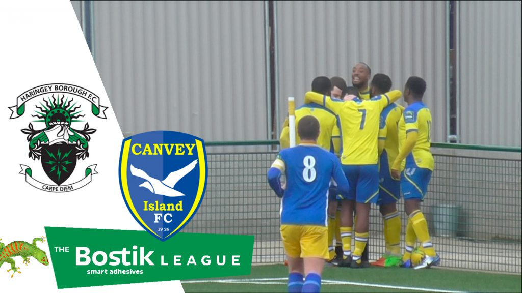 Haringey Borough 2 – 0 Canvey Island
