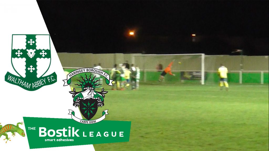 Waltham Abbey 2 – 3 Haringey Borough