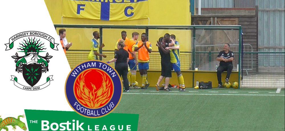 Haringey Borough 1 – 0 Witham Town