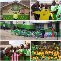 LOOKING FORWARD TO HOSTING LEYTON ORIENT AND RAISING MONEY TO SUPPORT KENYAN CHILDREN