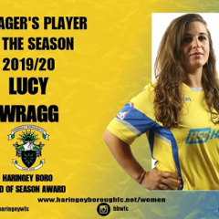 2019/20 Managers Player: Lucy 🏆