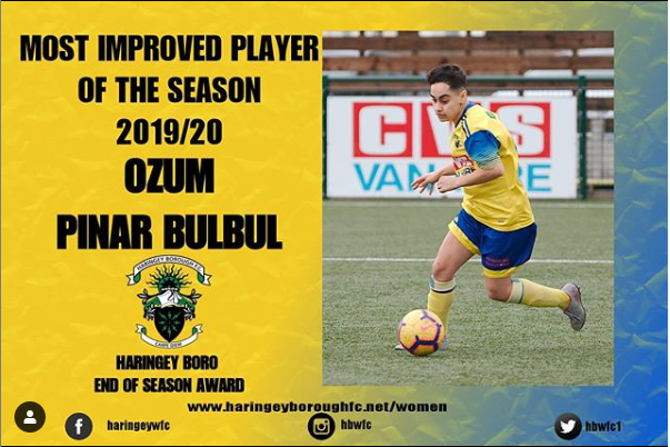 2019/20 Most Improved Player: Ozum 🏆