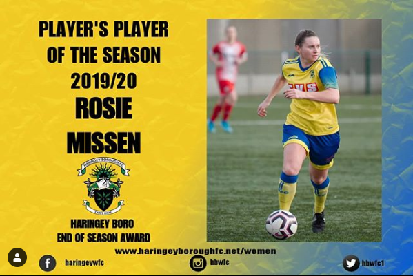 2019/20 Players Player: Rosie 🏆