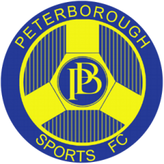 Peterborough Sports away in FA Cup for the Men's Team